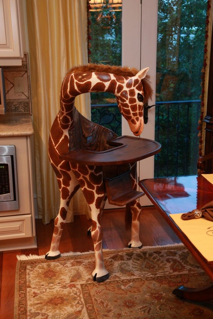 giraffe furniture. I Don\u0027t Need A High ChairBut If Could Find One Of These. Would Buy It For The Future Babies. Giraffe Furniture