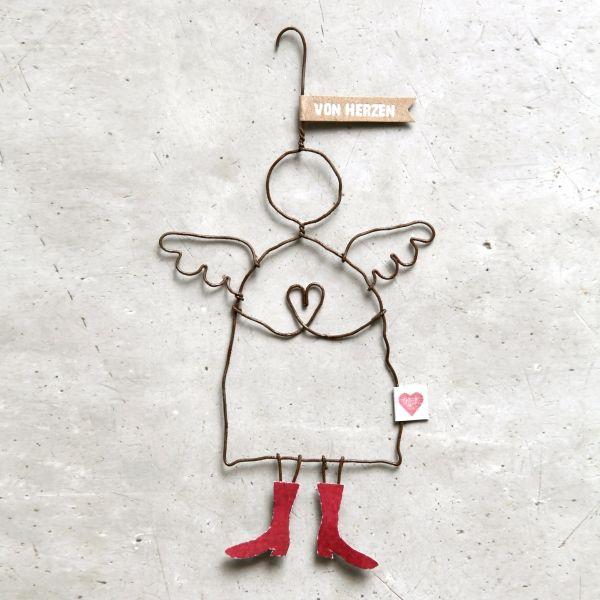 winter schutzengel von herzen engel engel schutzengel und weihnachten. Black Bedroom Furniture Sets. Home Design Ideas