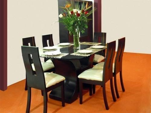 mesas de comedor para 6 personas modernas - Buscar con Google ...
