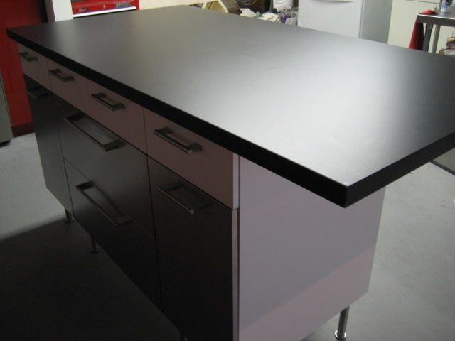 Loftitect: Kitchen Installation Part 2   Phenolic Resin Countertops