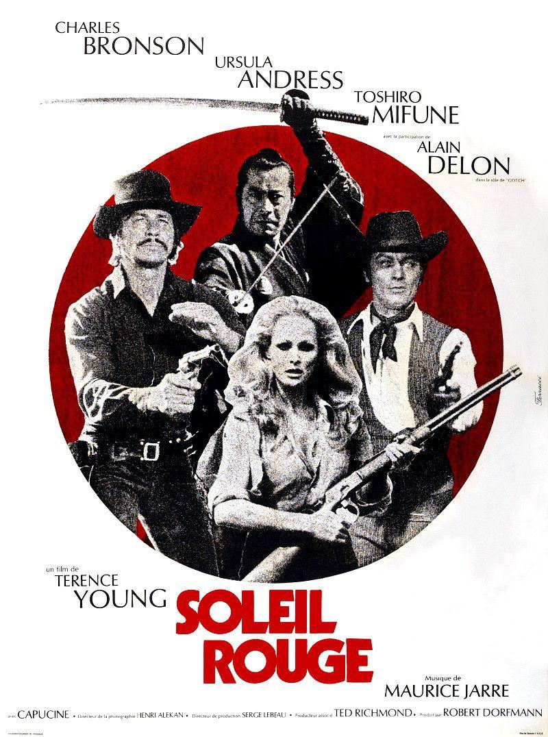 Soleil Rouge Film 1971 Soleil Rouge Charles Bronson Toshiro Mifune