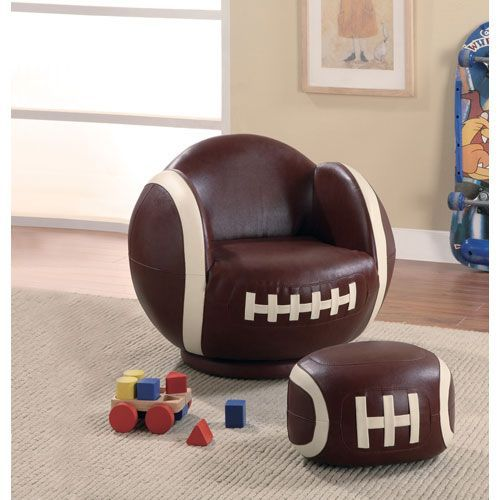 Kids Football Chair Idea Concept
