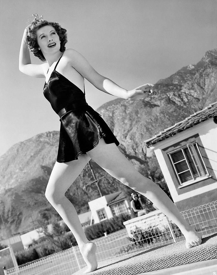 Lucille Ball in Palm Springs #lucilleball