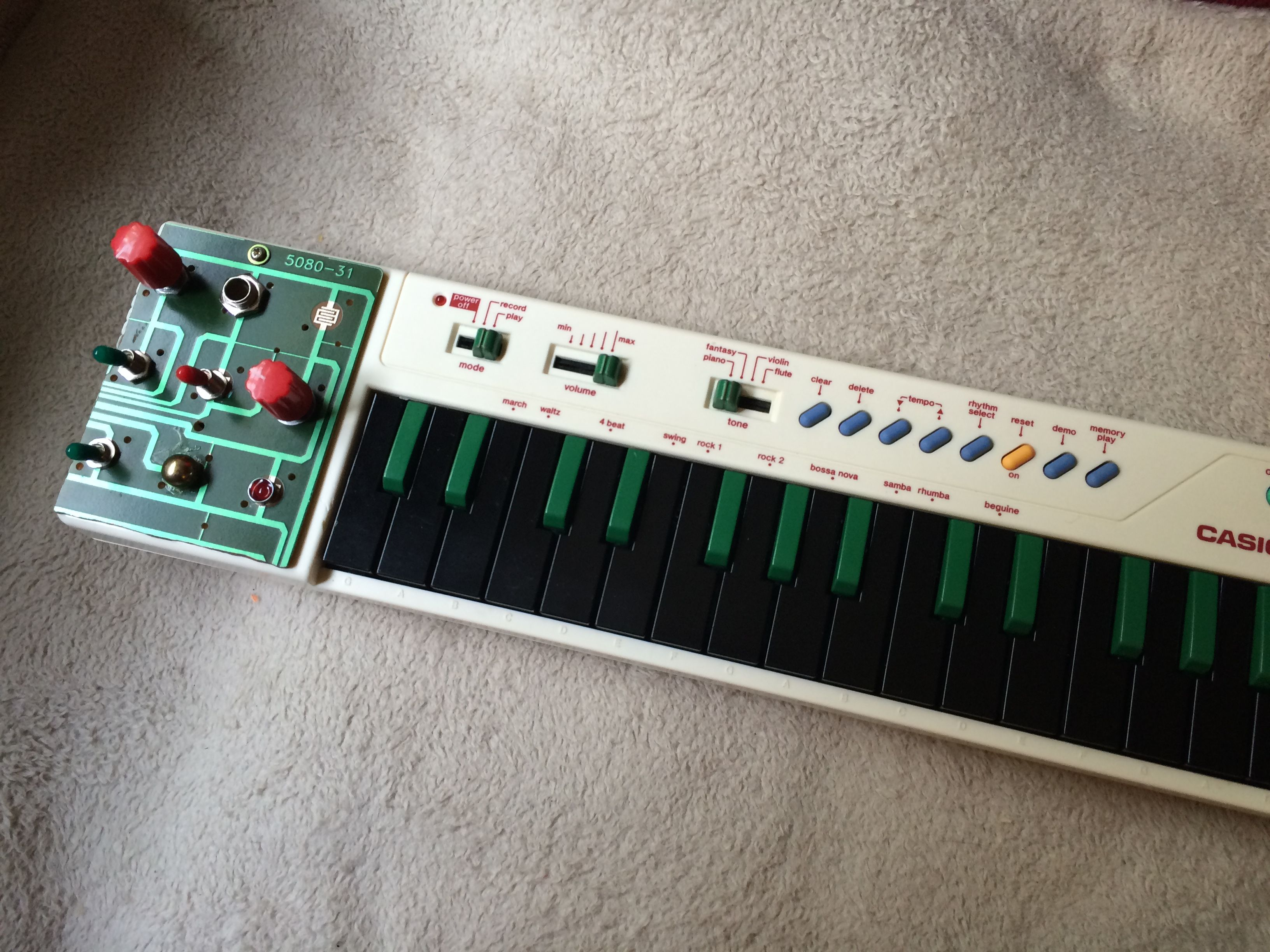Modified Casio Pt 10 Circuit Bendy Pinterest Picture Of Bending A Sk1