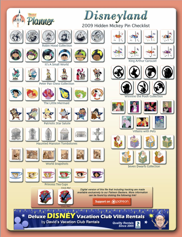 Pin on Disney Hidden Mickey Pin Trading