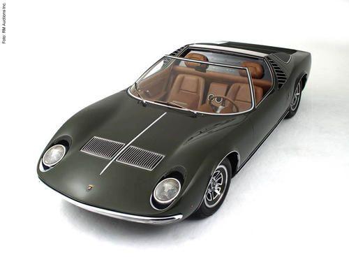 1968 Bertone Lamborghini Miura Spyder