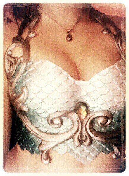 Atlantica Mermaid Top by MerBellas on deviantART