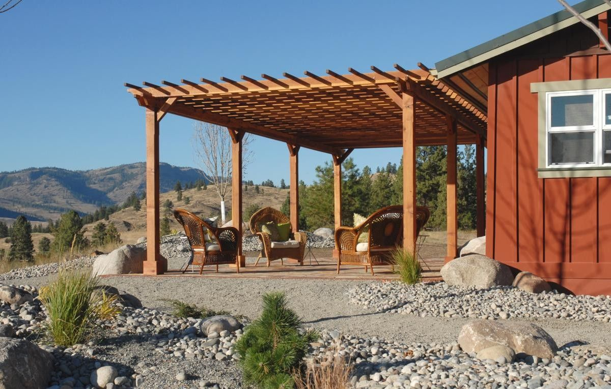 Pergola ideas are created to those who want to build a for Patio home designs