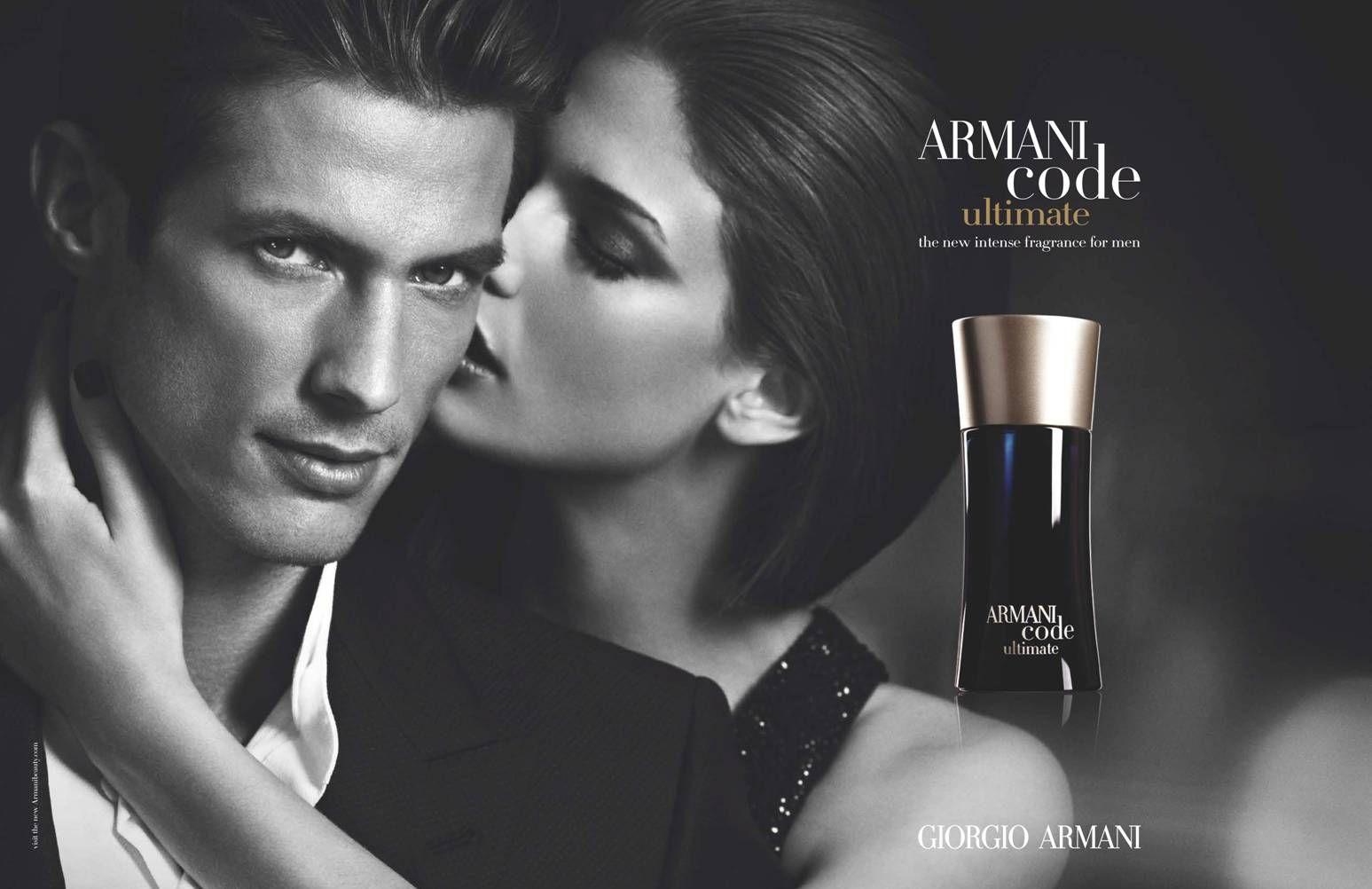 Domenique Melchior for Armani Code Ultimate | Anuncio perfume, Perfume,  Perfumes hombre