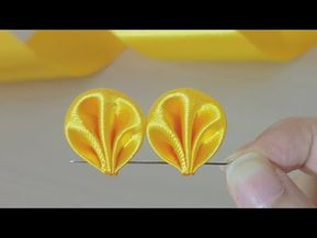 Amazing Ribbon Flower Work - Hand Embroidery Flowers Design - Sewing Hacks - DIY Easy Flower Making #ribbonflower