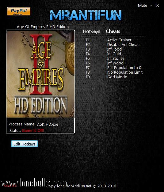 Download Age Of Empires 2 Hd Edition V3 7 2608 6 Trainer For The
