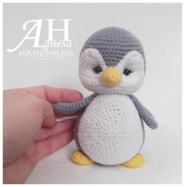 Crochet Little Penguin | Molde, Tejido y Animales