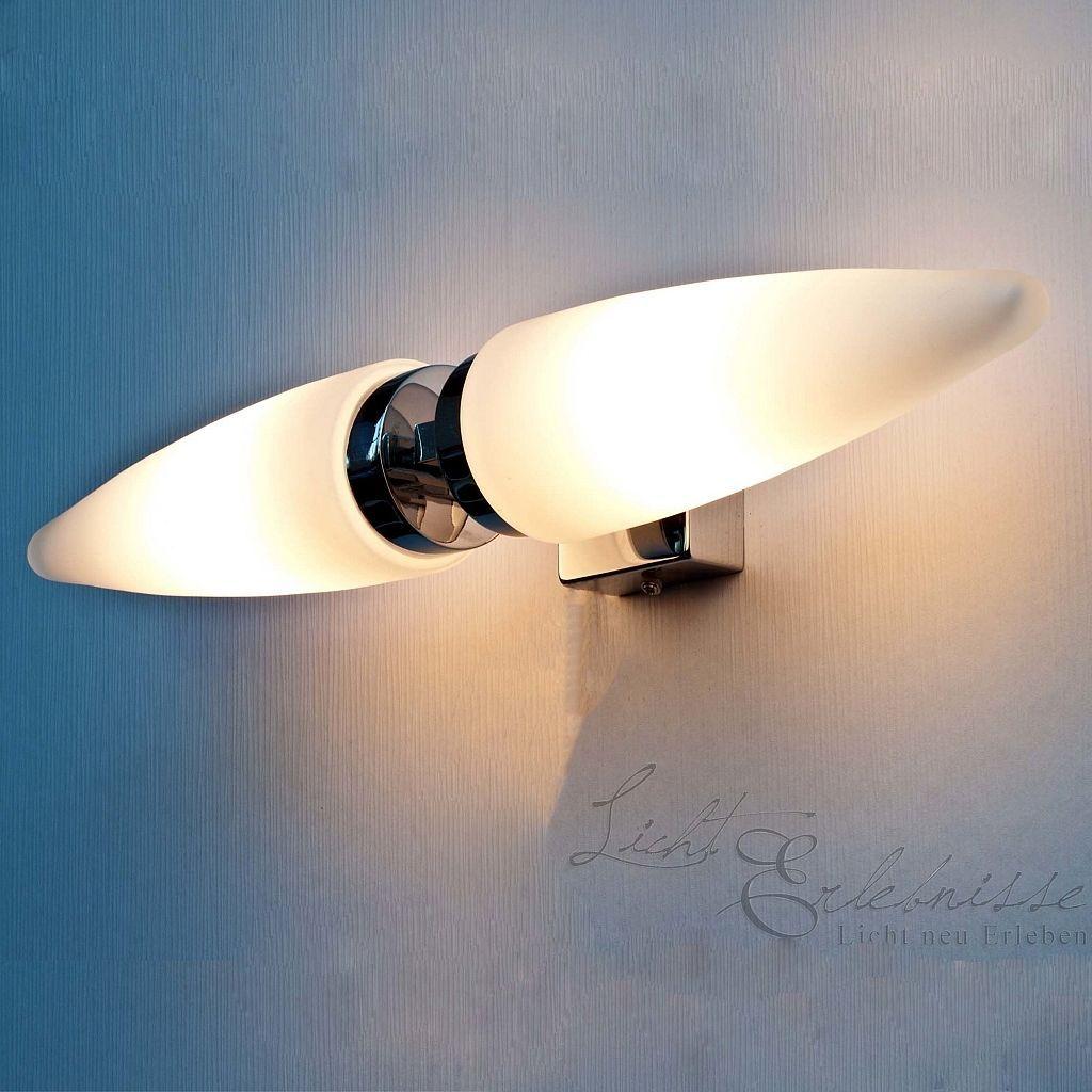 Led Badezimmerleuchte Badlampe Badleuchte Licht Beleuchtung Lampe Bad Wc Spiegel 2 Lampen Bad Led Wc Spiegel