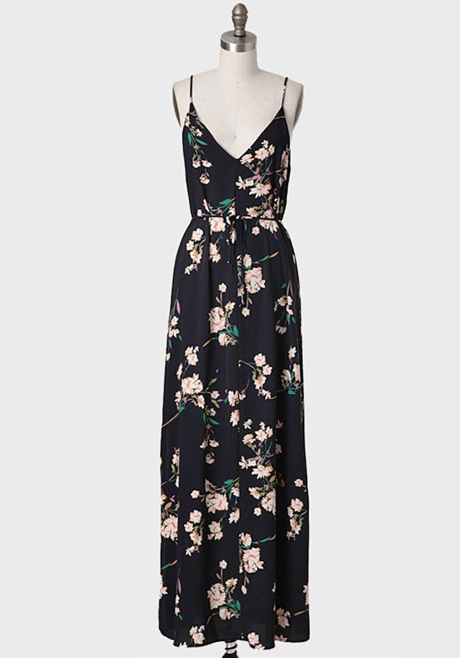 Thing Of Beauty Floral Maxi Dress