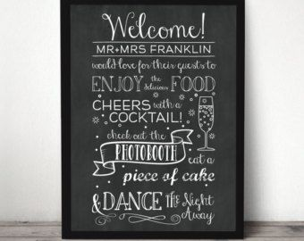 This Drunken Shenanigans wedding artwork is made to order and ...