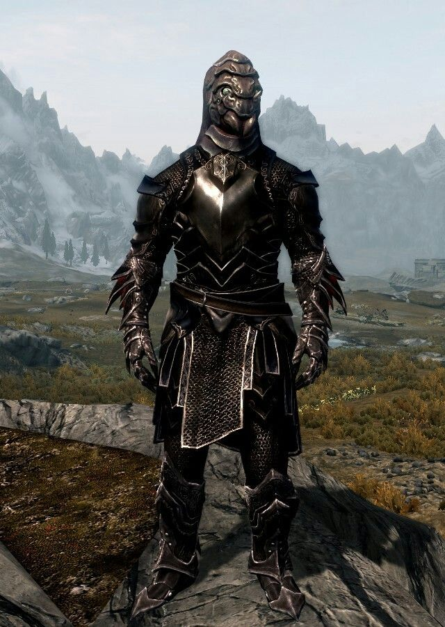 Quot Knight From The Depths Quot By Skane Ebony Mail Daedric