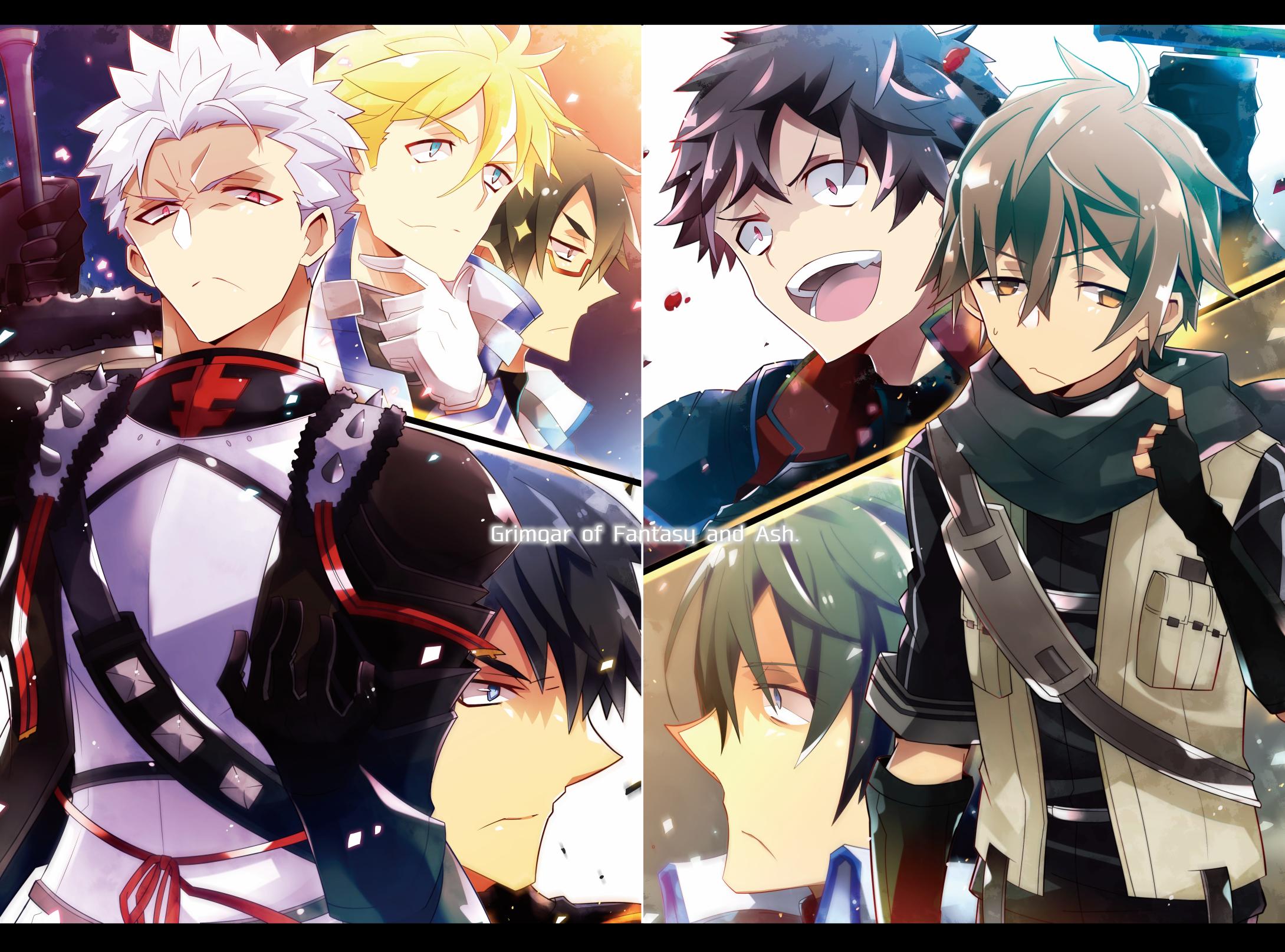 Anime Grimgar Of Fantasy And Ash Manato Ranta Haruhiro Wallpaper
