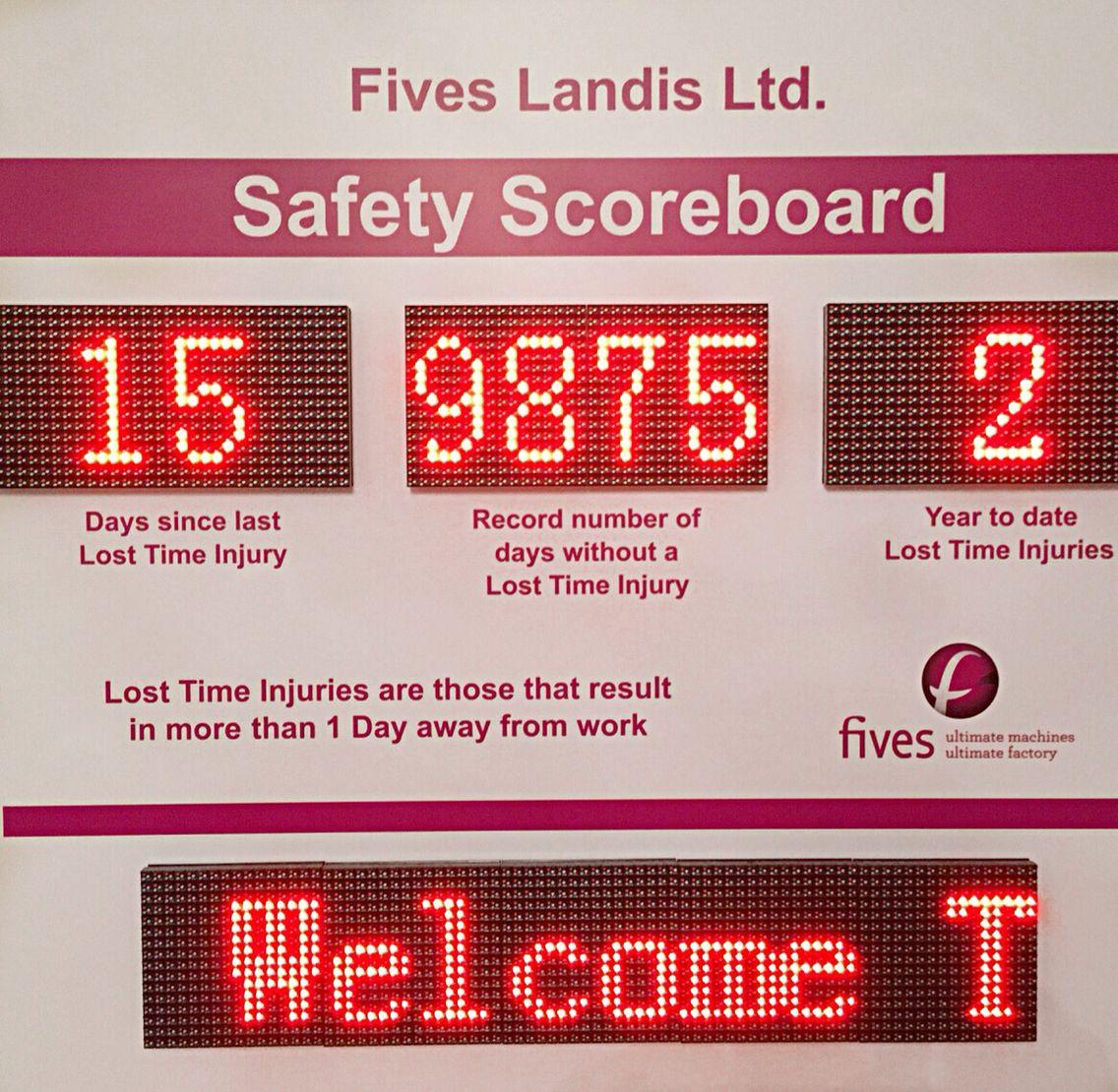 Www.dynamoleddisplays.co.uk Indoor LED health and safety