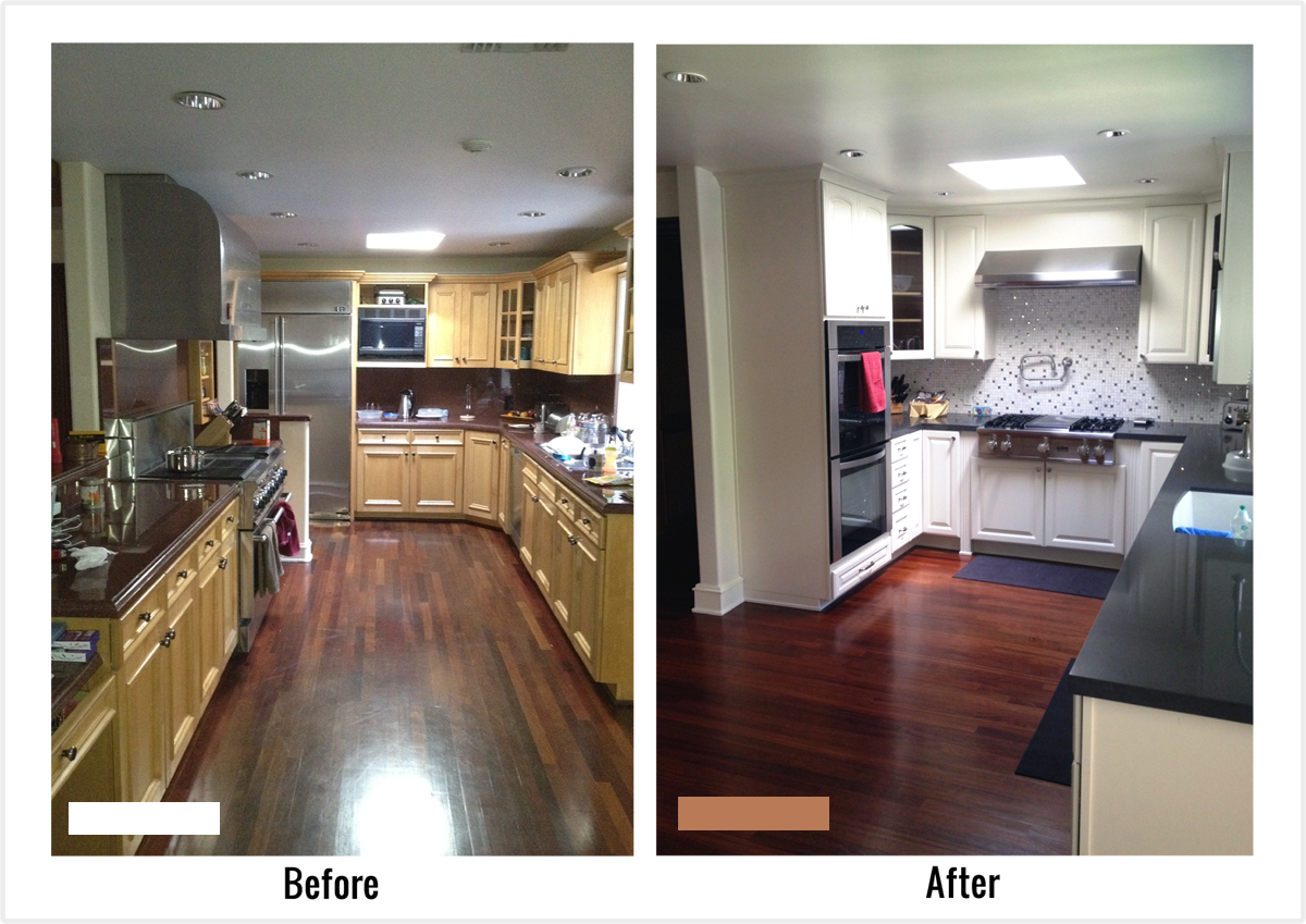 Galley Kitchen Before And After Pin Oleh Jooana Di Evolusion Design Concept Kitchen