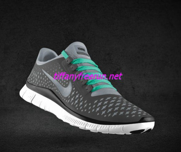 100% authentic 875f8 0aa74 Womens Nike Free 3.0 V4 Coffee Reflect Silver Iguana New Green Lace Shoes
