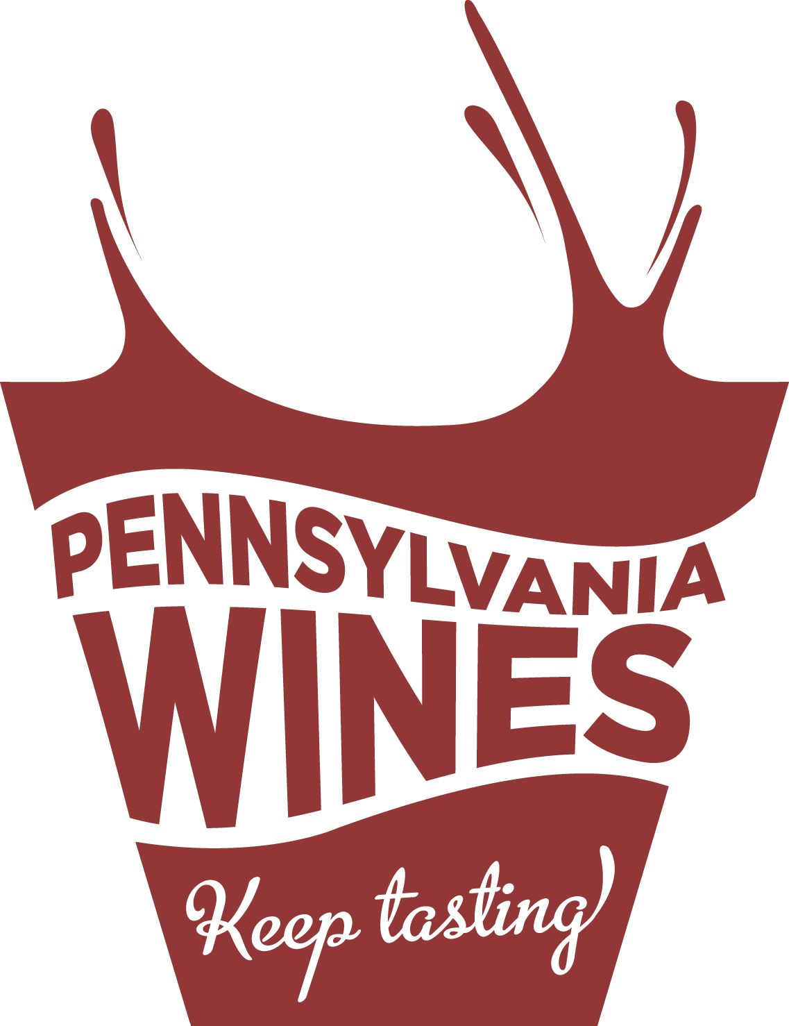 Great Website That Lists All Of The Wineries In Pa Pennsylvania Wines Keep Tasting Logo Pennsylvaniawine Com Wine Trail Wine Event Wine Tasting Events