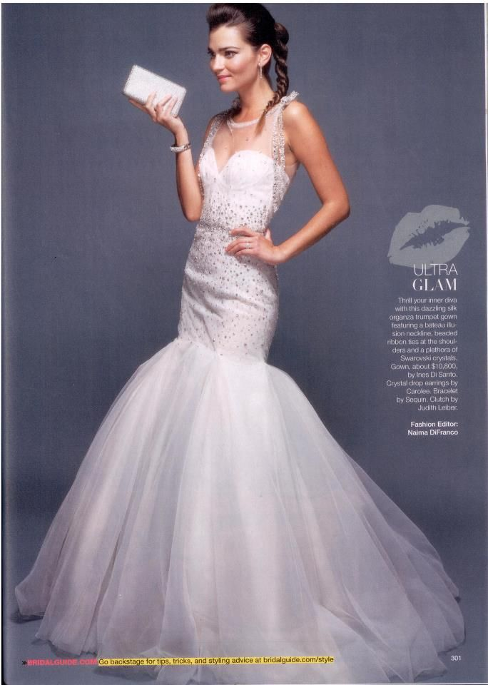 March/April 2013 Issue of @Bridal Guide Magazine featuring @Ines Di ...