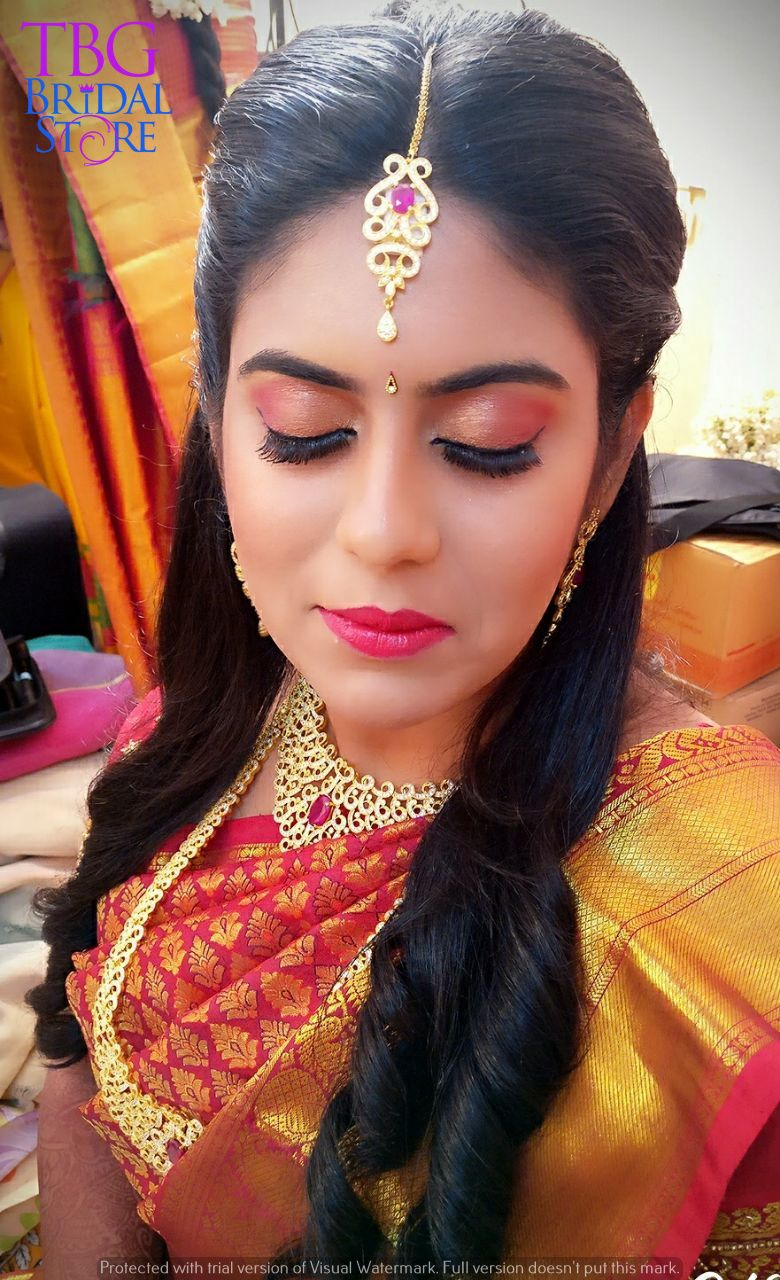 south indian bridal makeup get the #celebrity #hd #airbrush