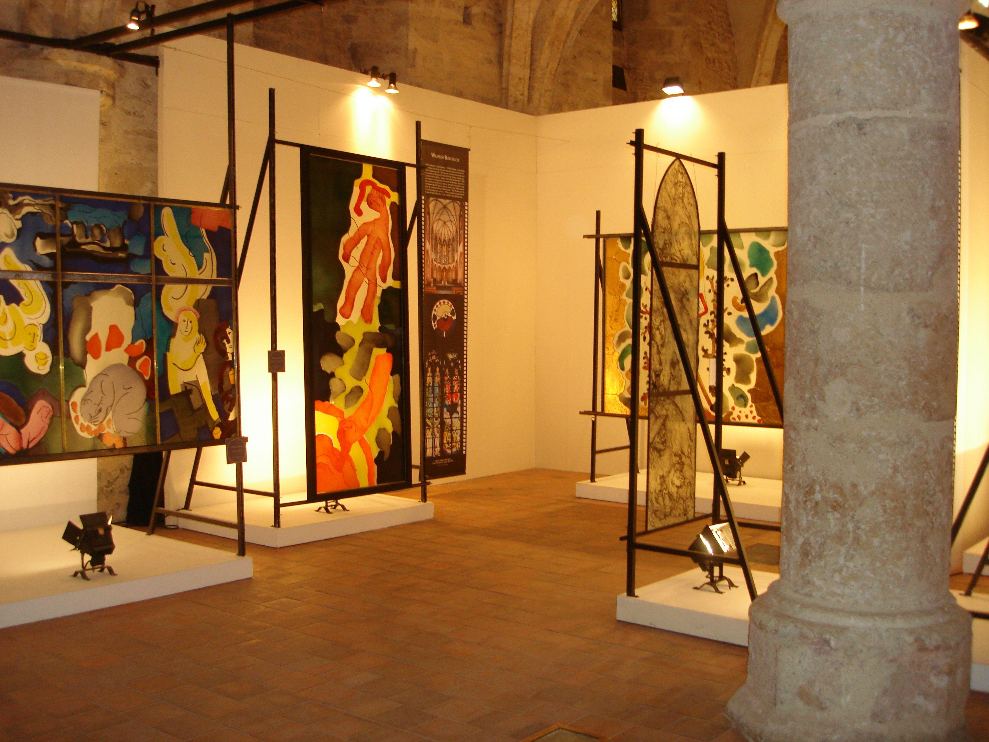 Civ exposition art du vitrail en allemagne cr dits office de tourisme de chartres jpg 3264 - Office tourisme allemagne ...