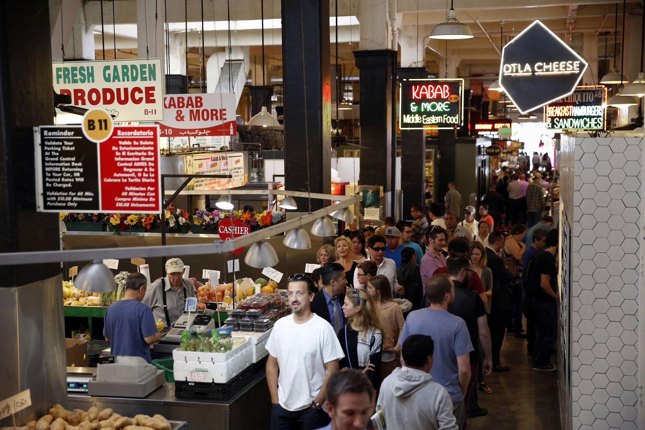Grand Central Market Open For Dinner Starting July 3 Central Market Marketing Grands