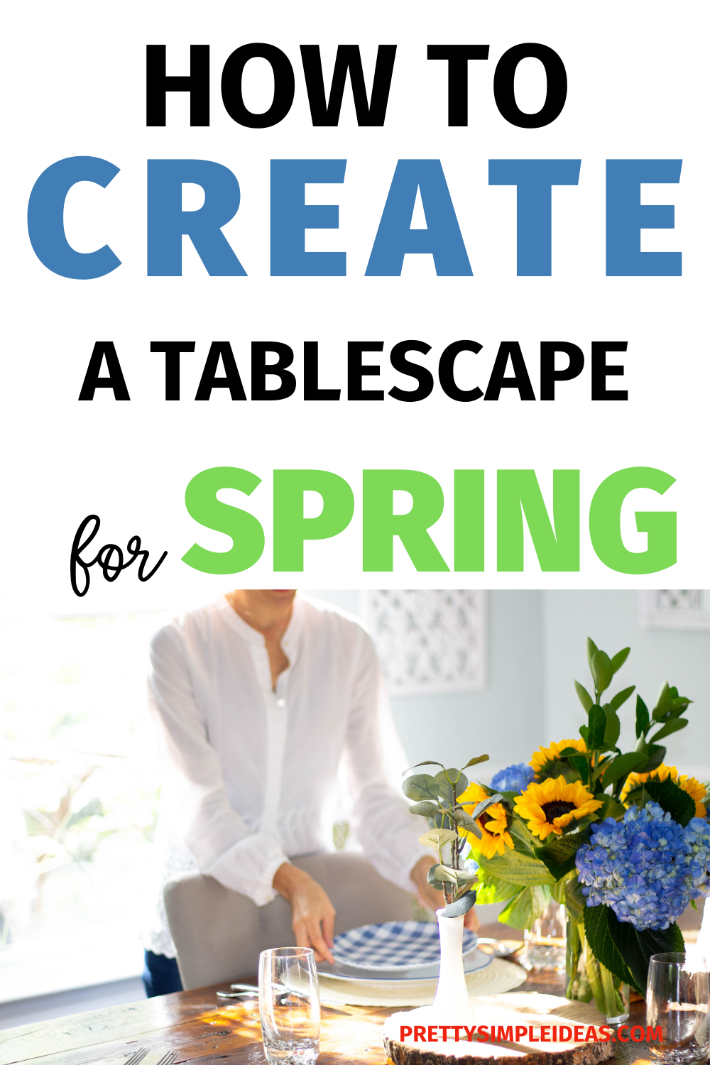 How to Create a Spring Tablescape that WOWS Gallery