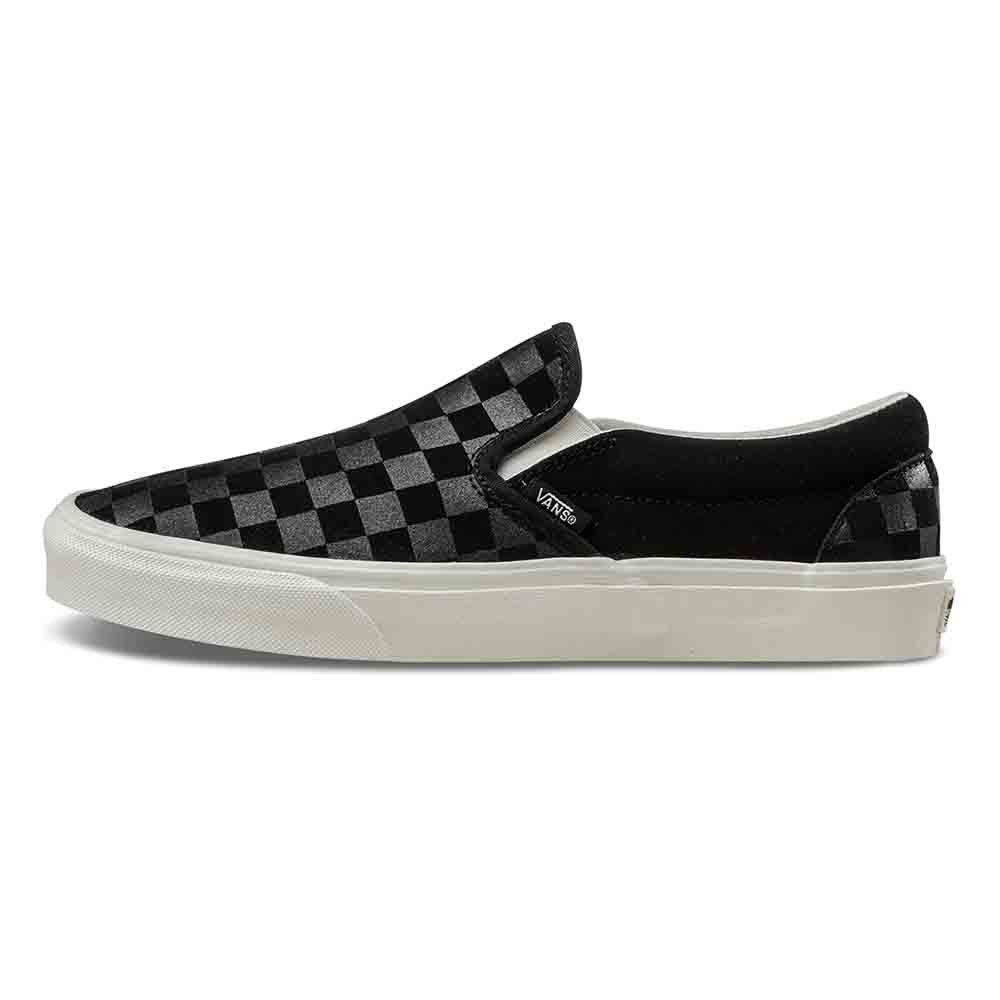 36154463d1 Αθλητικό παπούτσι Vans CHECKER EMBOSS Black  Marshmallow CLASSIC SLIP-ON  SHOES - VN0A38F7QCF