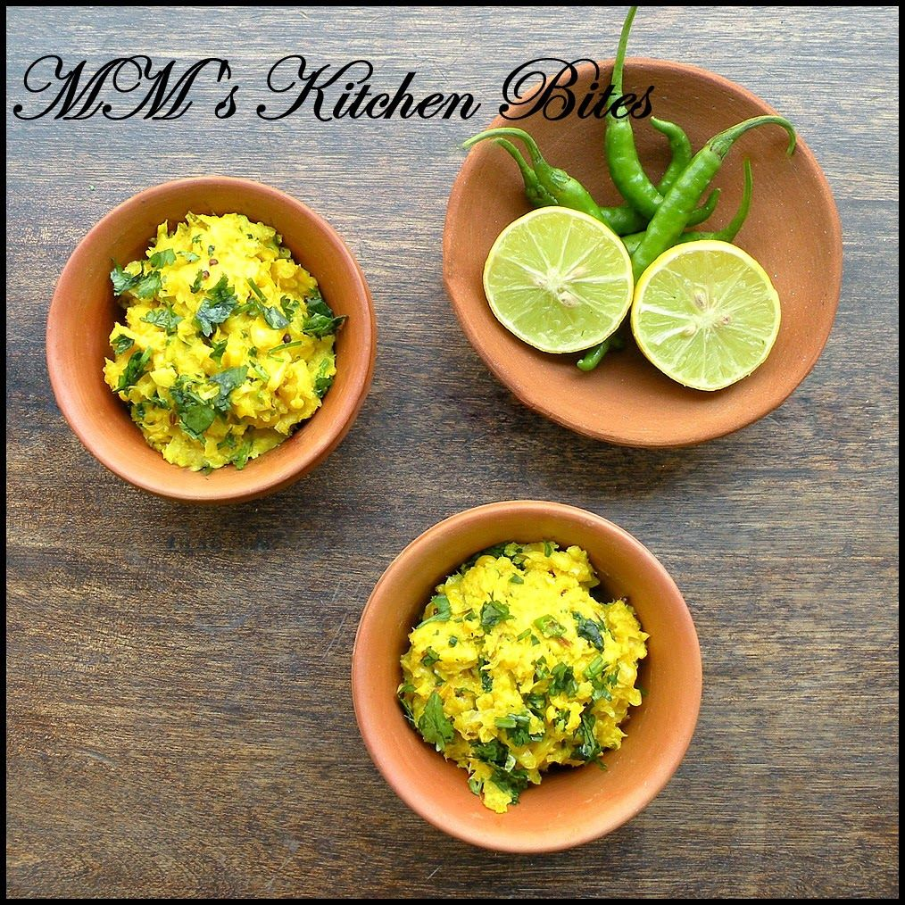 MM's Kitchen Bites: Bhutte Ke Kees (Grated corn, spiced and cooked in milk)