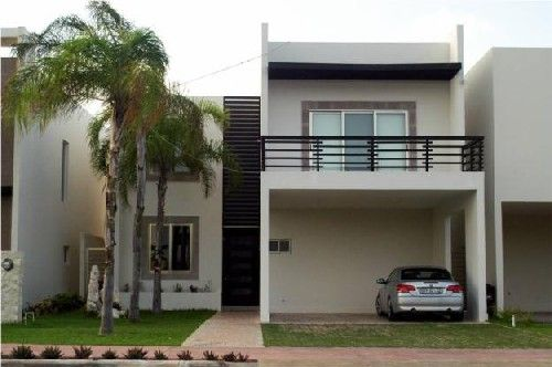 Fachadas de casas modernas fachada de casa moderna con for Interiores de casas bonitas