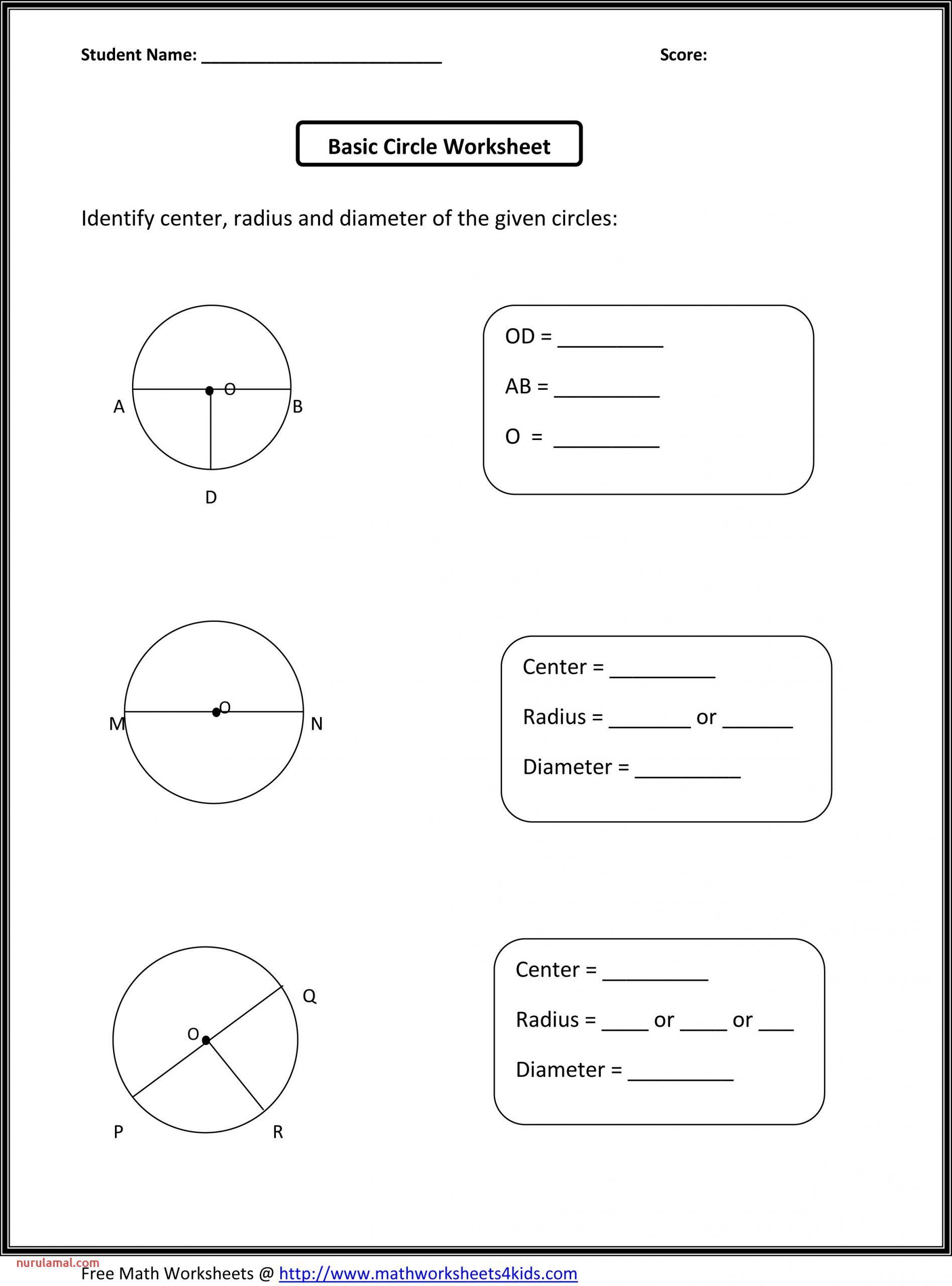 2nd Grade Math Test Printable