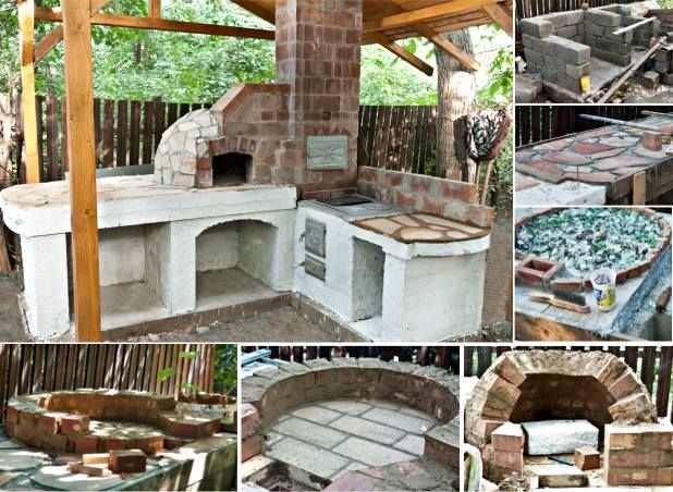 Build Your Own Outdoor Kitchen With Pizza Oven This Brings Diy To Amusing Build Your Own Outdoor Kitchen Inspiration