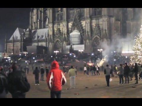Terror in KÖLN: Massivste Übergriffe auf Frauen + Diebstähle durch 1000 ...