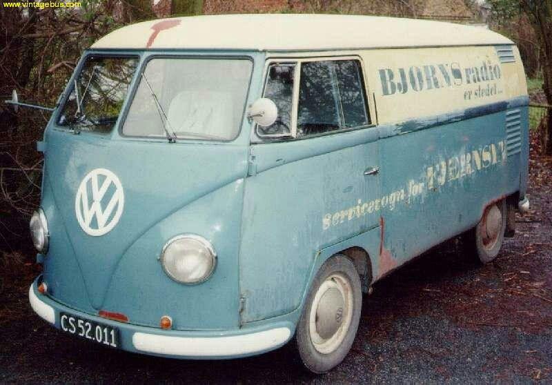 vw split window panel van vehicles for the people type ii vw split window panel van