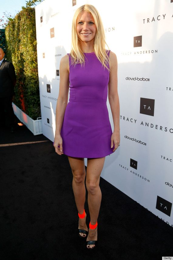 LOOK: Gwyneth Paltrow Leaves Tags On High Heels During Red Carpet Event