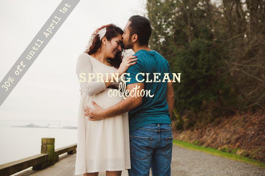 Spring Clean Lightroom Preset Collection is here! 30% off until April 1st!
