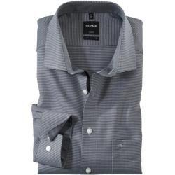 Photo of Olymp Luxor Hemd, modern fit, Global Kent, Schwarz, 43 Olympolymp