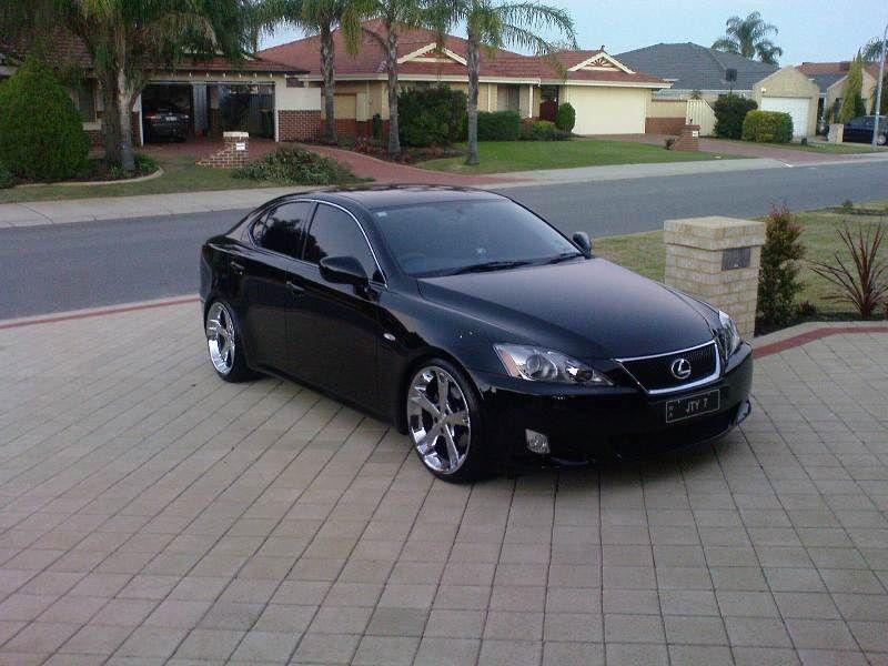 My Black Lexus IS250 with Fabulous MB-5 Rims - Club Lexus