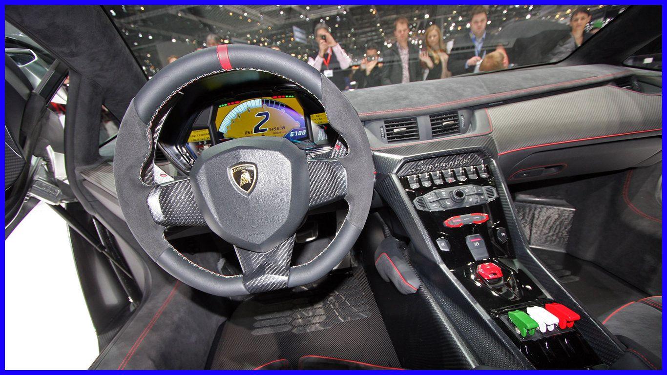 Lamborghini Veneno Interior Drivers View Wallpaper Lamborghini