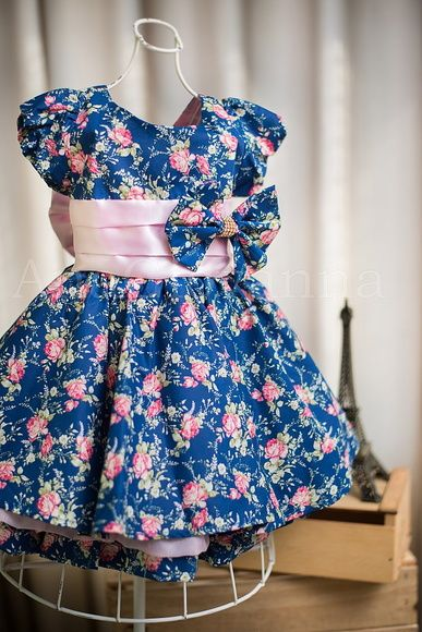Vestido estampa fadas Cecilie Petit Cherie