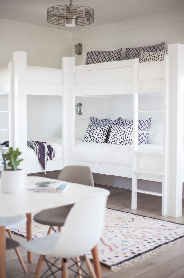 Exceptional Coastal Modern Kids Room Bunk Beds More