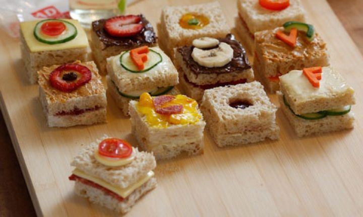 This Sandwich Recipe Will Be A Hit With All Tech Savvy Kids And Adults Too The Cute Little IPod Icon Squares Make Them Fantastic Party Food