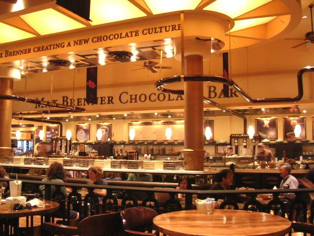 Max Brenner Chocolate Bar 841 Broadway Christmas In Nyc