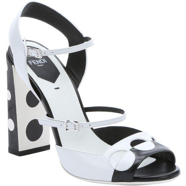 double strap sandals - White Fendi LNna859Nwj