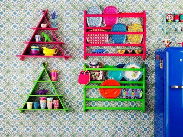Novas formas para usar palets na cozinha! @Decoração Criativa