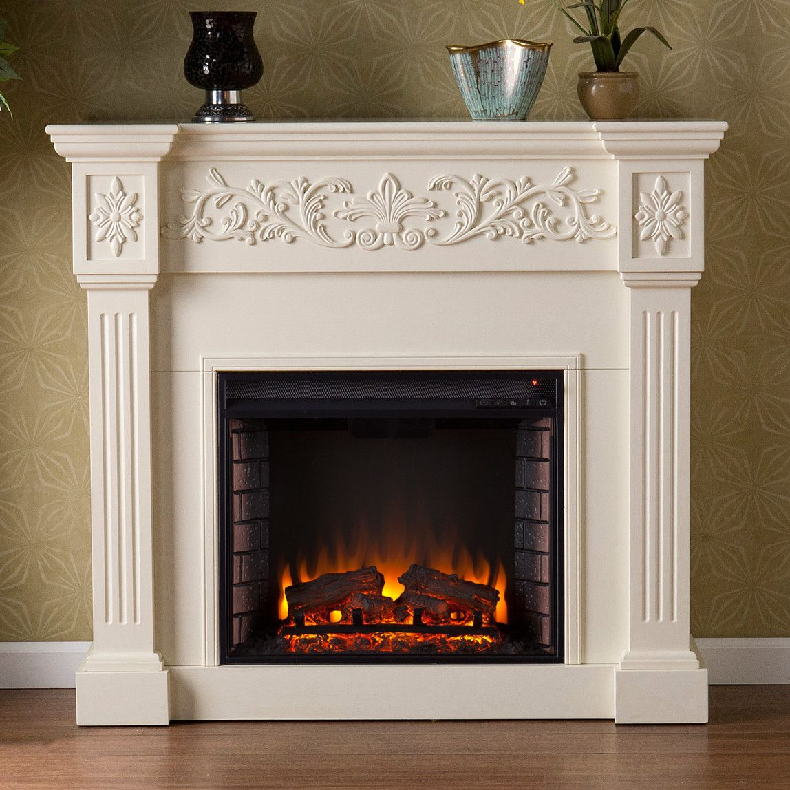 Pin By Dorothylandry On Electric Fireplace White Electric