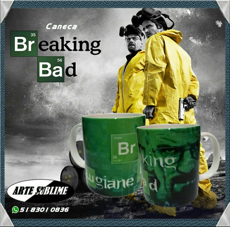 Canecas Série Breaking Bad